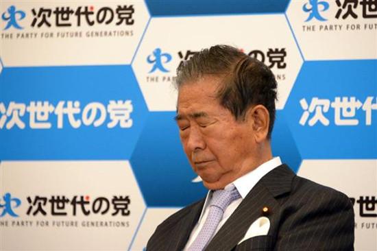 石原慎太郎自称老兵引退宣布有意退出政界(图)