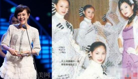 多年前,孙俪在琼瑶电视剧《情深深雨蒙蒙》就曾经出过镜,但当时