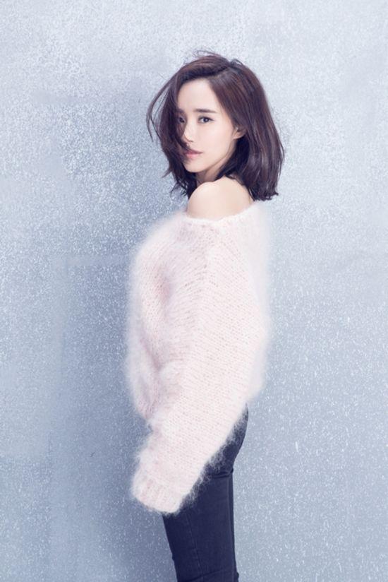 王智新发型拍写真 纯净高雅气质脱俗(组图)【6】