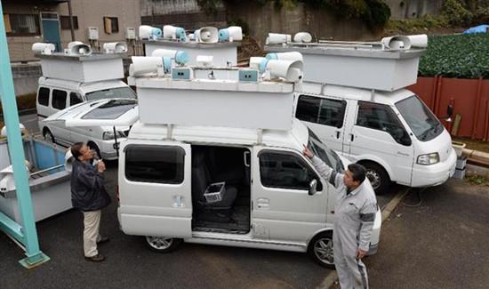 """日本掀起众院""""解散风""""工厂加紧打造选举车"""