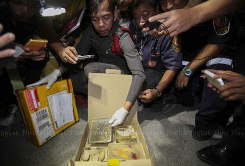 泰国查获国际包裹 内藏婴儿器官和人皮