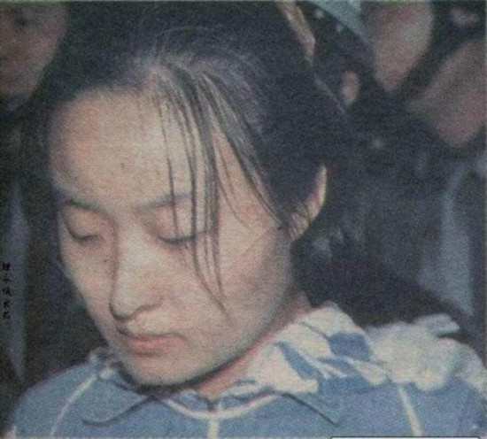 揭秘 中国三十年来被枪决的美女死囚 枪决现场照曝光