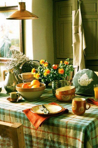 7款桌布搭配 让餐厅清新感满满