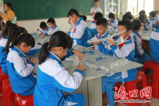 海口实现乡村学校少年宫全覆盖教学成果获赞