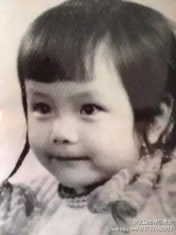 杨乐乐童年照