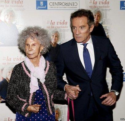 西班牙最富女公爵逝世 享年88岁