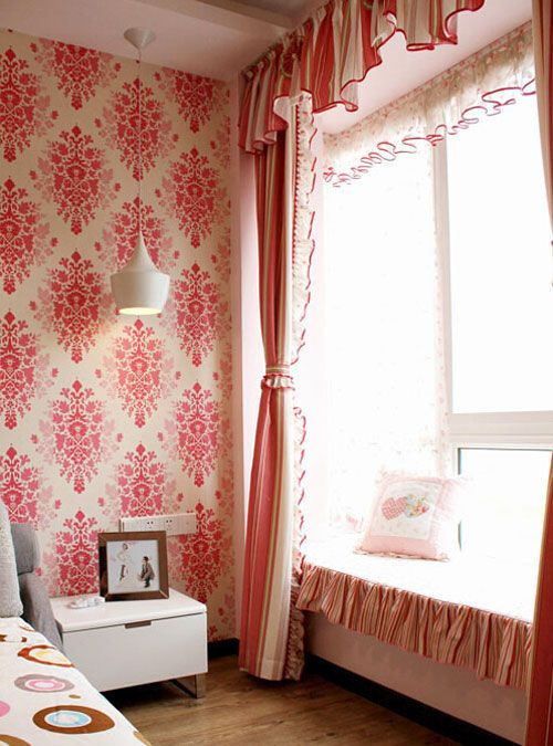 卧室里多出来的休闲区 8款卧室休闲飘窗设计