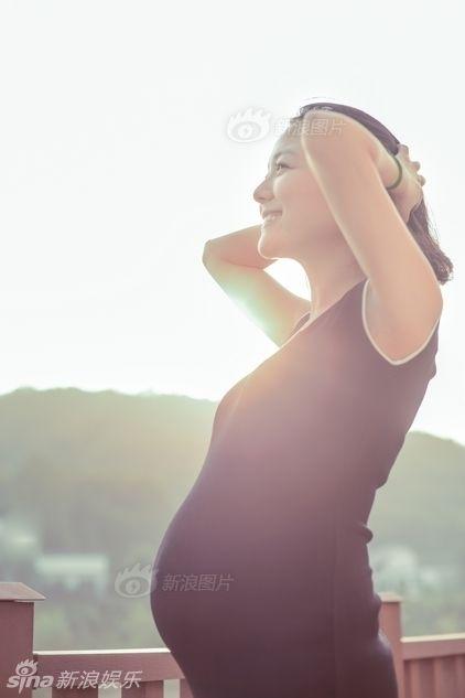 汪涵夫妇产前拍写真 杨乐乐孕期美照首曝光(图)