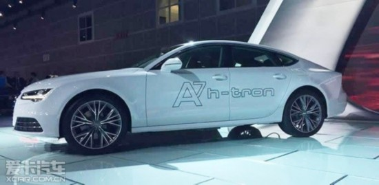 奥迪A7 h-tron概念车洛杉矶车展首亮相