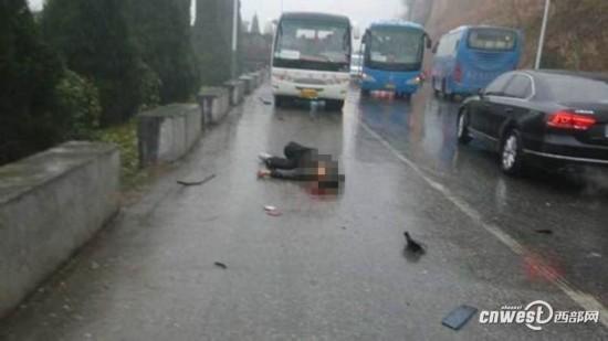 高清组图 宝鸡岐山县发生多车相撞车祸 现场惨烈 高清图片