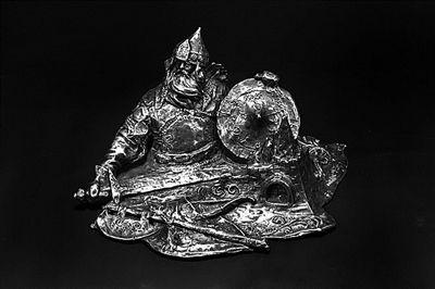 俄罗斯银雕