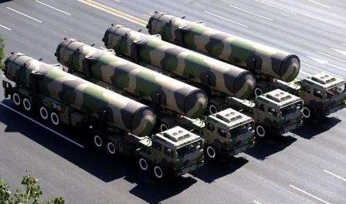 中国东风-31洲际弹道导弹
