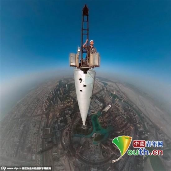 高828米的现世界第1高楼哈利法塔 太过震撼【多图】 - 可可 - 可可西里