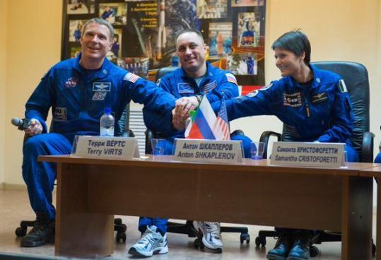 意大利首名女宇航员乘俄载人飞船升空