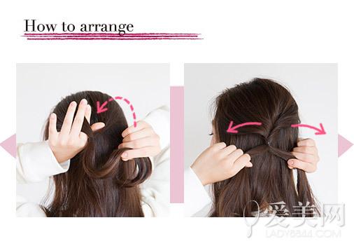 style1      style1     长头发编成侧边发辫,蝴蝶结发夹点缀