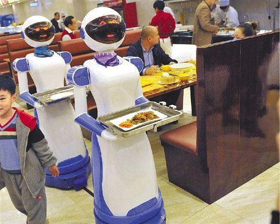 原标题:机器人送菜、跳舞助兴 宁波慈溪这家餐厅你会去吗?-宁波一