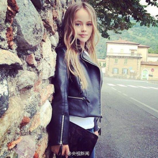 俄罗斯9岁女孩成国际超模 被誉世界最美少女