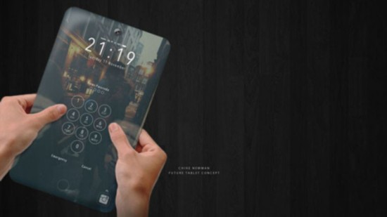 超薄iPad概念设计