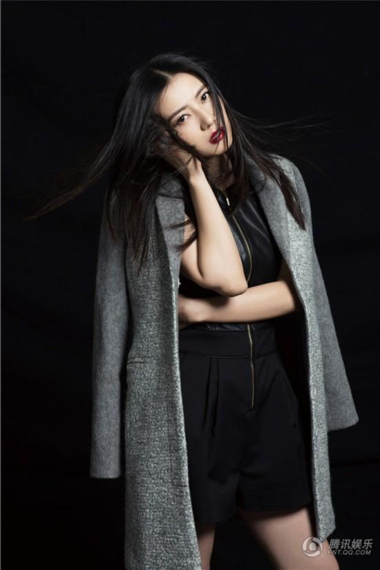 刘亦菲高圆圆范冰冰 固守黑发美的女星(图)【2】