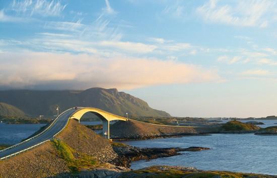 实拍挪威海滨