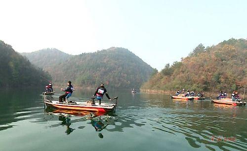 宣城:安徽首届国际路亚垂钓赛在宁国举行