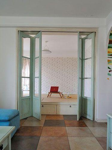 15万装修90平两室一厅 打造清新实用家居高清图片