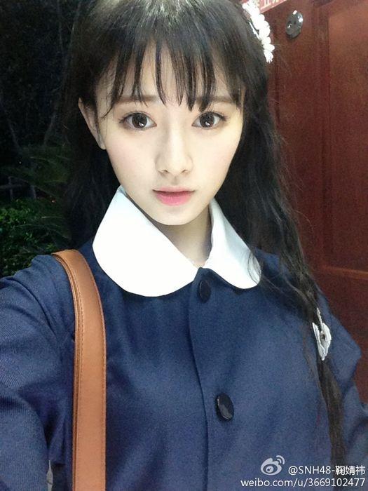 日媒评选中国第一老外揭美女眼中最美中国女美女中国学生校服图片