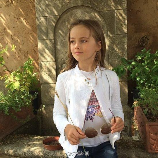 俄罗斯9岁美少女成国际超模