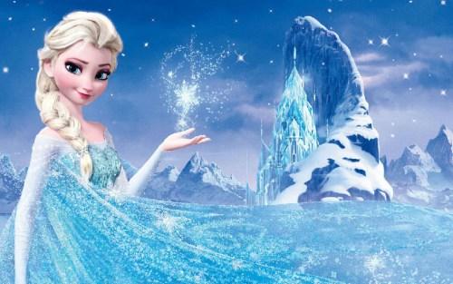 美国女孩爱 冰雪奇缘 艾莎公主 芭比首度失宠