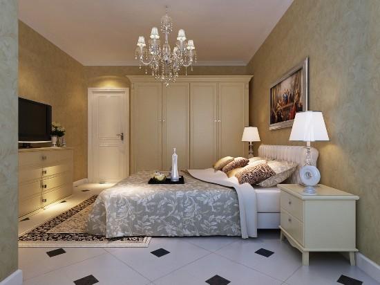 金色漫香林-二居室-88.00平米-卧室装修效果图