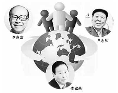 调查称香港富豪45%为富二代 大陆91%富豪靠自己