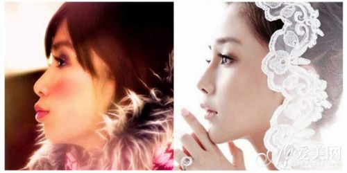 elababy整容前后侧脸对比-整容最成功的女明星 Angelababy整容前照图片
