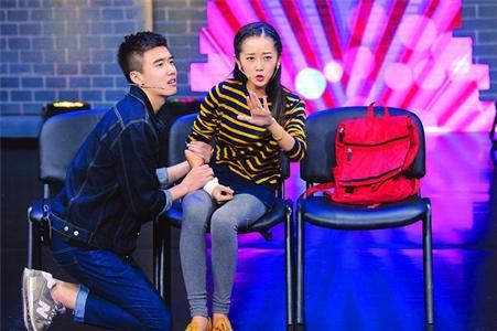 陈嘉男和张哲华的小清新表演,瞬间俘获崔永元。