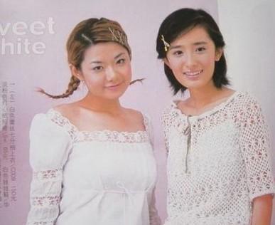 04年杨幂的杂志照片,这样的女孩似乎在街上一抓一大把.-谢娜吴昕