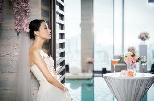 高圆圆赵又廷大婚v性感性感好看造型照片婚纱的女生的大全女神最美图片