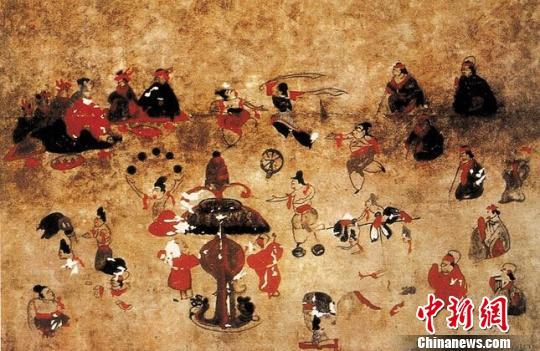 内蒙古和林格尔汉墓壁画讲述1800年前墓主传奇一生