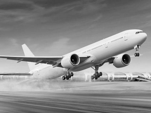飞机视频表演白云机场