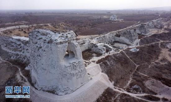 """""""匈奴故都""""统万城国家考古遗址公园建设启动"""