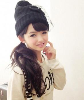 日本13岁时尚女生爆红被技能女生称为神学什么小学教主图片