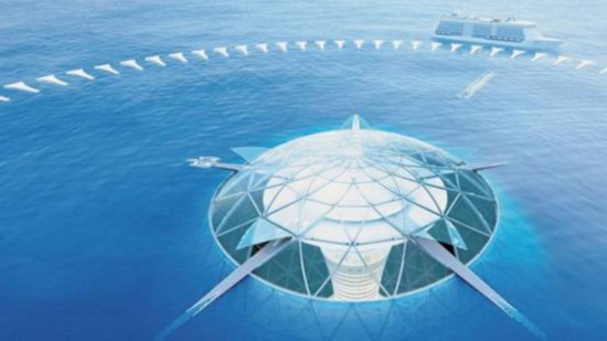 日本斥资200亿欧元建造供居民长久居住的海底城市