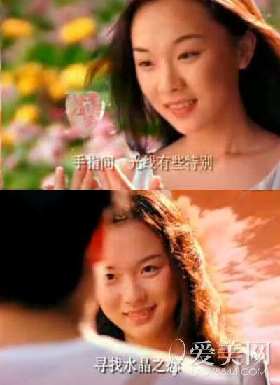 """霍思燕   霍思燕靠《泰坦尼克号》随片广告\""""水晶之恋\""""一..."""