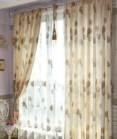 12款田园风窗帘推荐 给家换上多彩冬装