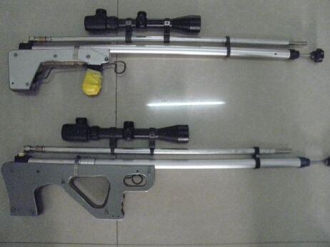 高压吹箭_两名男子网上下载图纸制造两支气枪(图)--图片频道 462图片