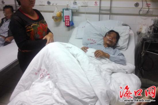 澄迈村民劝架被打致骨折 警方调查锁定嫌疑