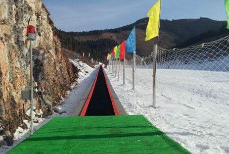 济南章丘金沙湾滑雪场,冬季旅游好去处