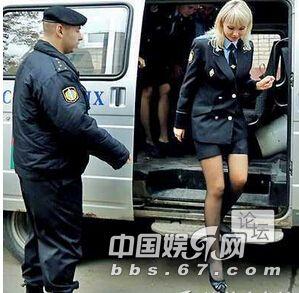 盘点12个国家的绝美女警