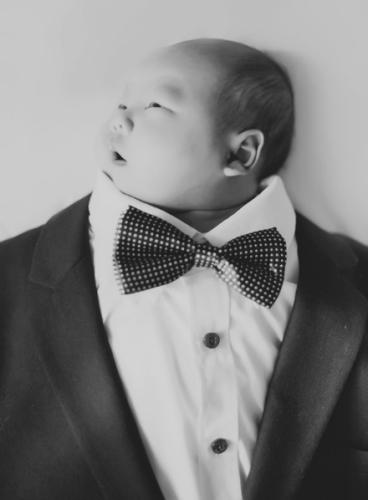 仅42天大图纸穿婴儿v图纸礼服逗趣拍照搞笑萌7.2铭文爸爸图片