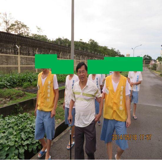 """时隔1年半蔡英文""""九合一""""胜选后探视陈水扁"""