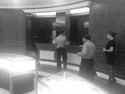 市民爆料海口京豪酒店三楼一会所无证卖翡翠