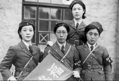 """图为""""自觉自愿""""的日军慰安妇"""